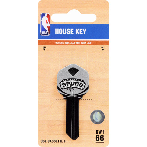 NBA San Antonio Spurs Key Blank