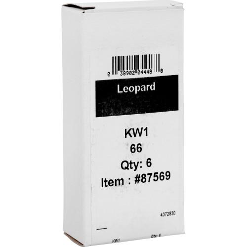 Metallic Leopard Key Blank Kwikset/66 KW1
