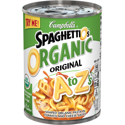 Organic A to Z's Pasta