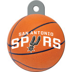 San Antonio Spurs Large Circle ID Spot Tag