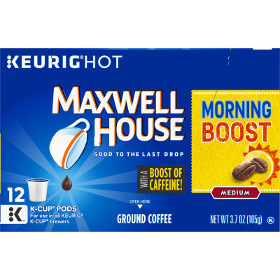 Maxwell House Morning Boost Coffee K-Cup Pods 3.7 oz Box