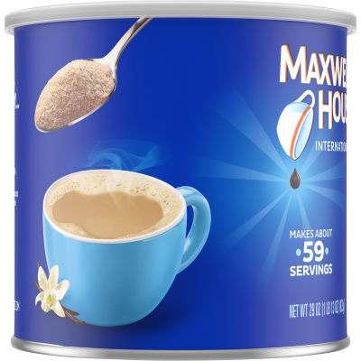 Maxwell House International Instant Flavored French Vanilla Coffee 29 oz Can