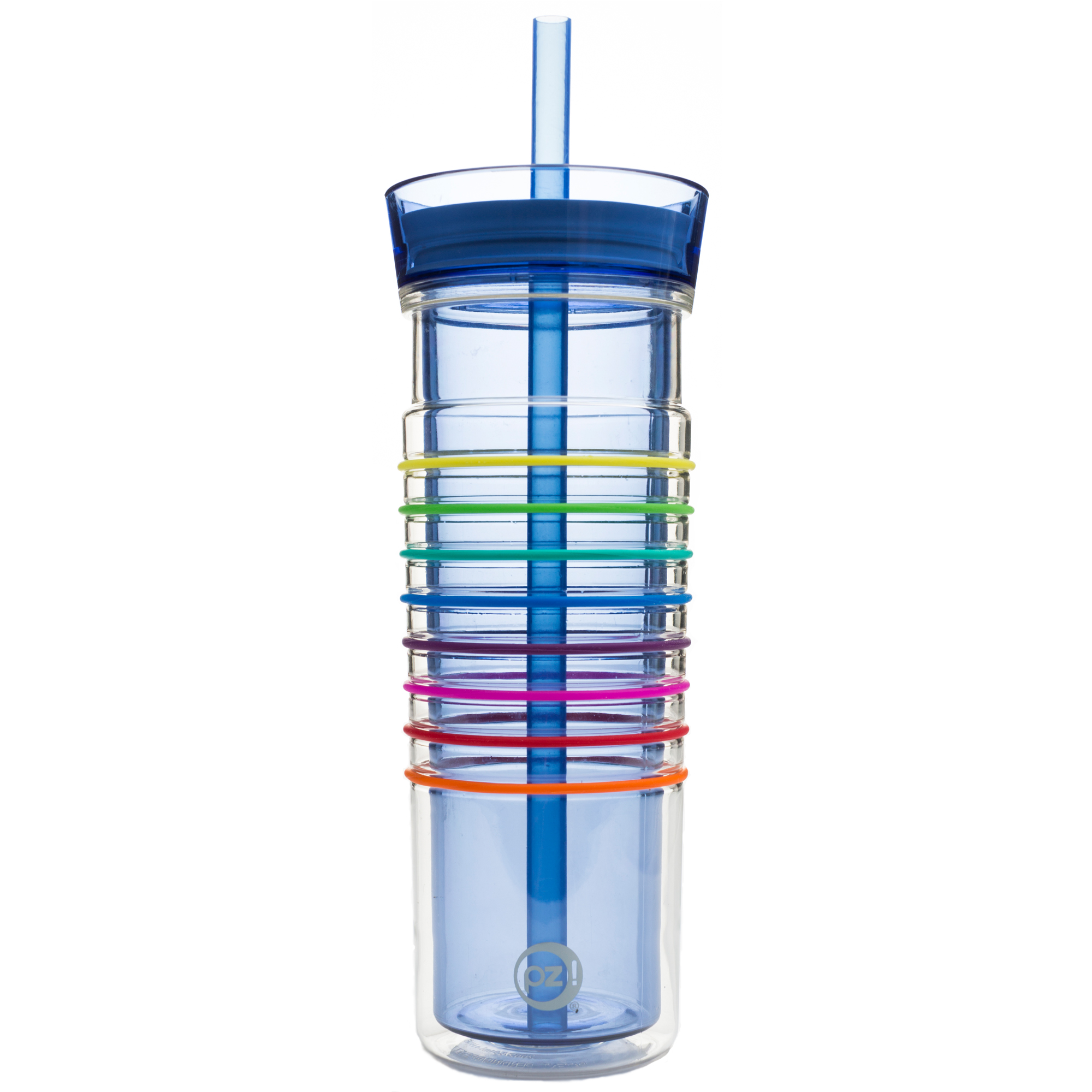 HydraTrak 20 ounce Insulated Tumbler, Periwinkle slideshow image 1