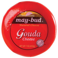 May-Bud® Gouda Natural Cheese 7 oz Wrapper