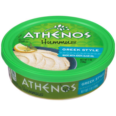 Athenos Greek Style Hummus 7 oz Tub
