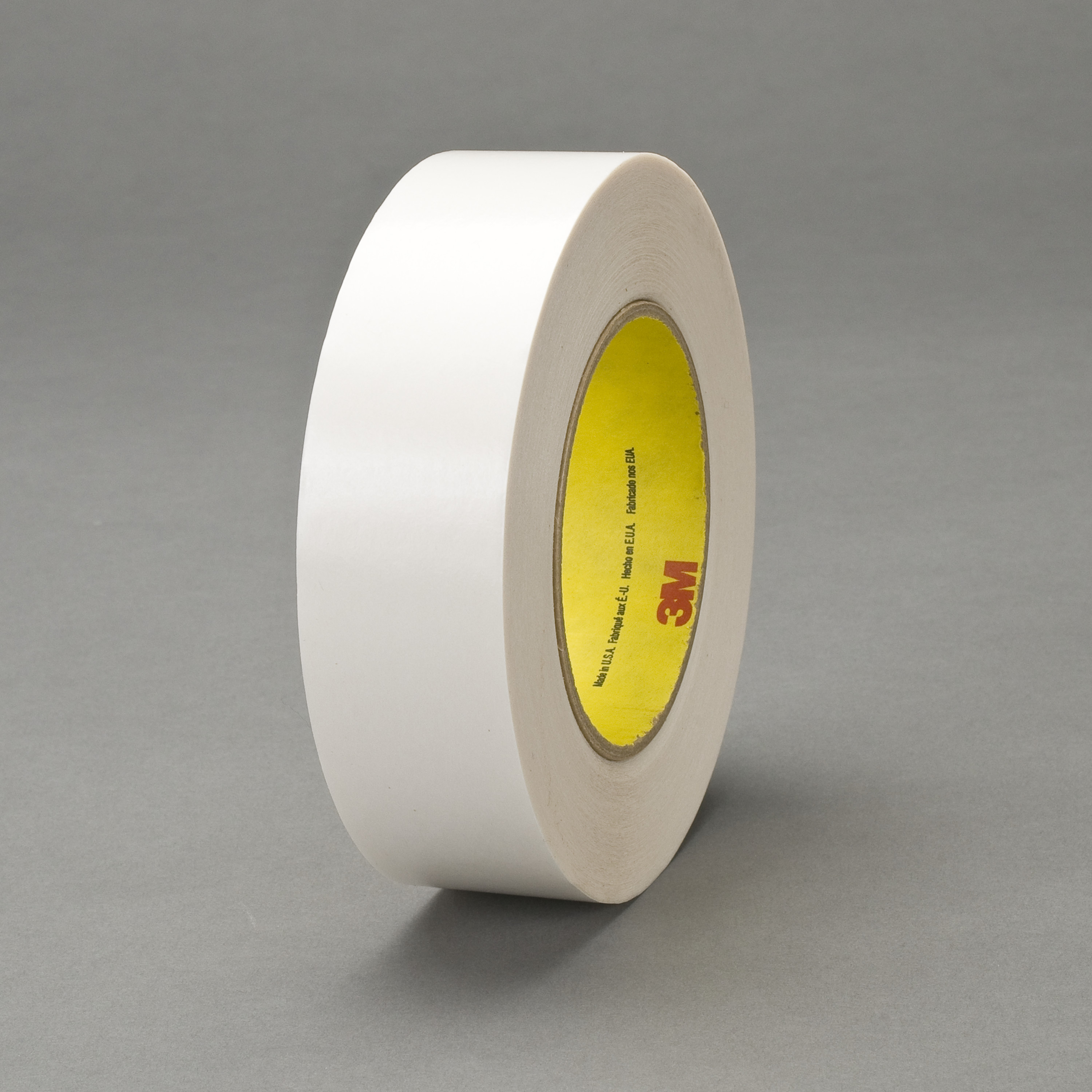 3M™ Double Coated Tape 9737, Clear, 36 mm x 55 m, 3.5 mil, 32 rolls per case
