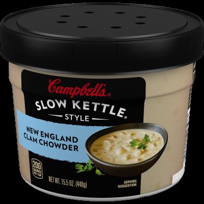 New England Clam Chowder with Fresh Cream