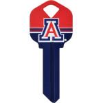 NCAA University of Arizona Key Blank