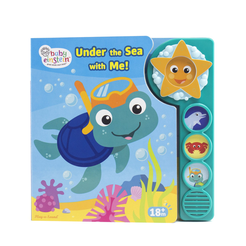 Custom Frame Book: Under the Sea with Me!