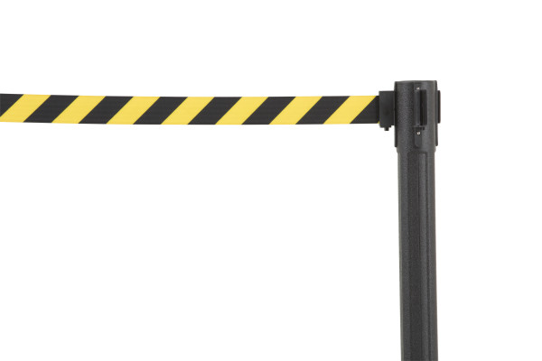 Sentry Stanchion - Black with CYB belt 2