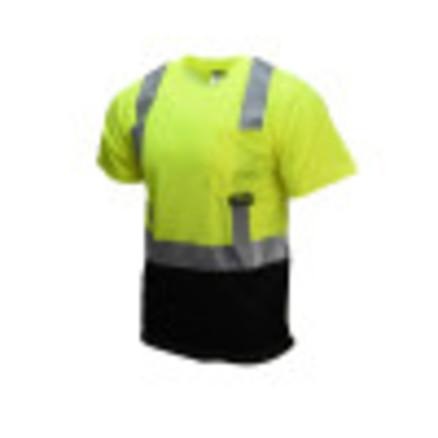 Radians ST11B Type R Class 2 Short Sleeve Black Bottom T-Shirt