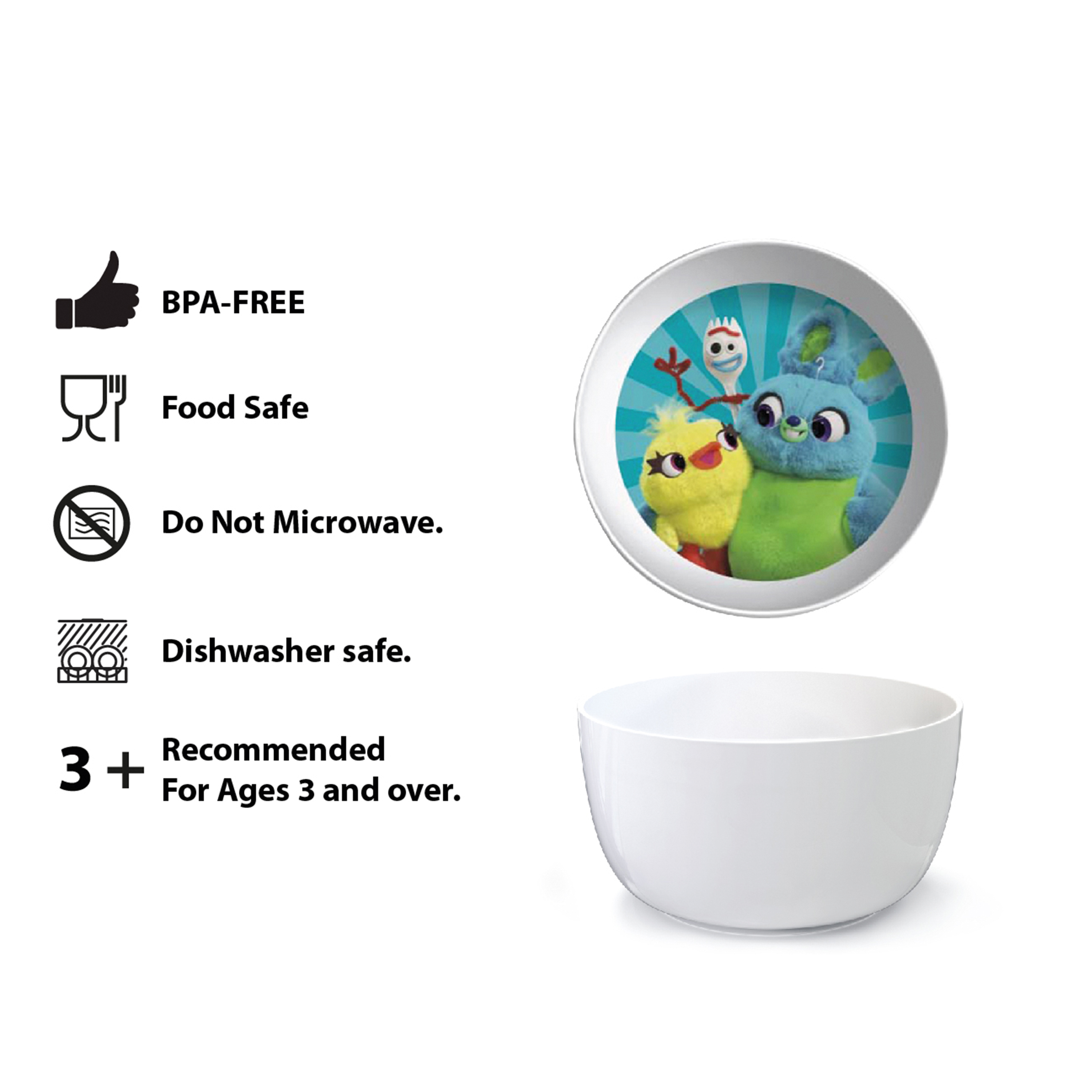 Disney Pixar Dinnerware Set, Woody, Buzz and Friends, 5-piece set slideshow image 10