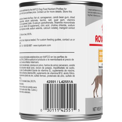 Sensitive Skin Care Loaf in Sauce Canned Dog Food