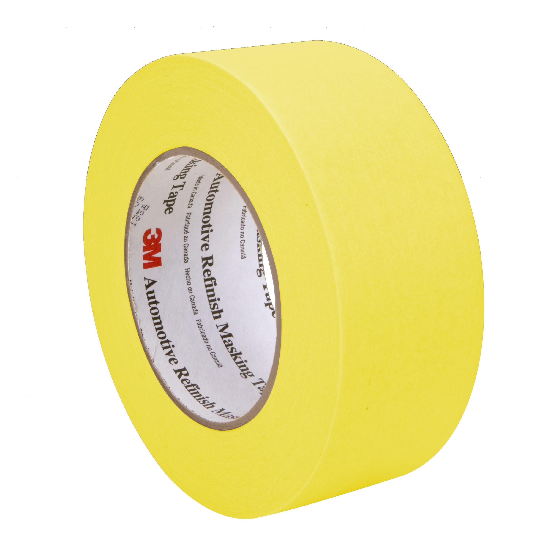 3M™ Automotive Refinish Masking Tape, 06656, 48 mm x 55 m, 24 per case