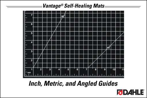Inch, Metric and Angled Guides