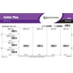 """Zinc Cotter Pins Assortment (3/16"""" & 1/4"""")"""