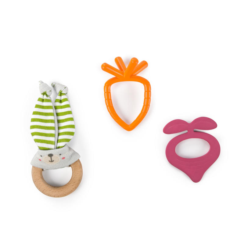 Simply Bright Starts™ Bunny Bites Teething Set™
