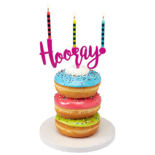 Hooray Assortment Candle Holder