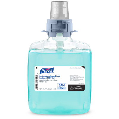 PURELL® Foodservice Advanced Hand Sanitizer VF481™ Gel - DISCONTINUED