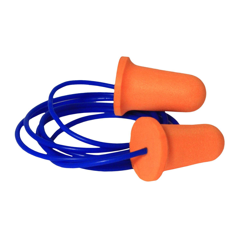 Radians Deviator® 33 Disposable Foam Corded Earplugs