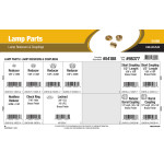 Lamp Parts Assortment (Lamp Reducers & Couplings)