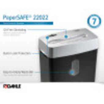 Dahle PaperSAFE® 22022 Paper Shredder InfoGraphic