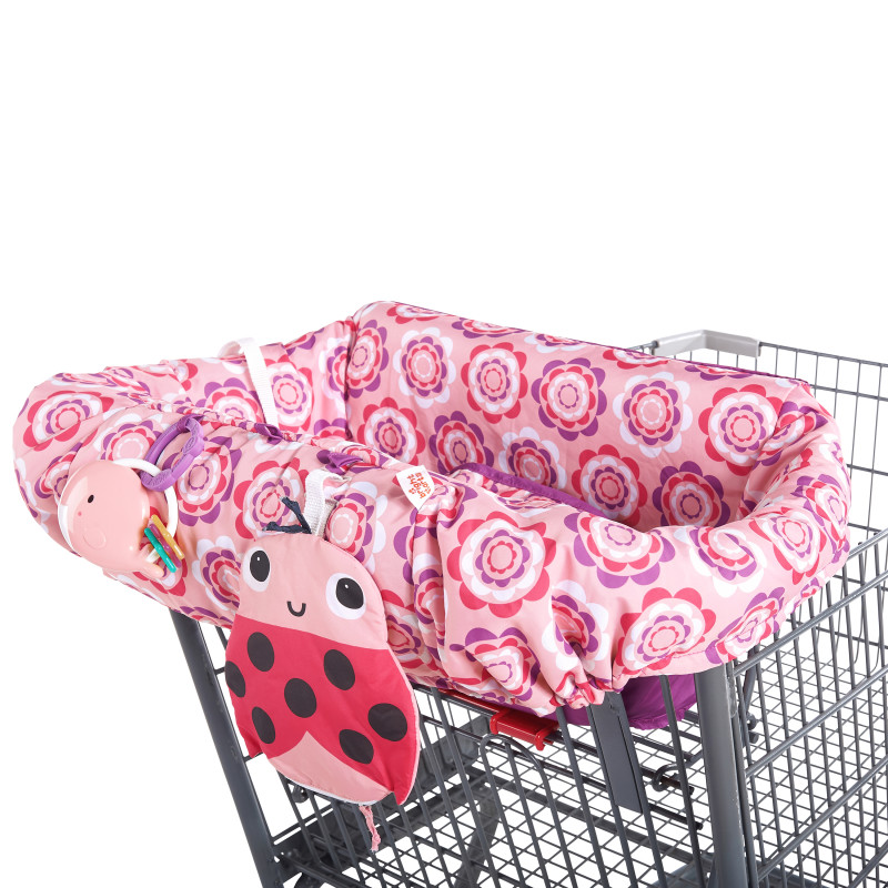 2-in-1 Ultra Cozy Cart Cover™ - Frosted Petals