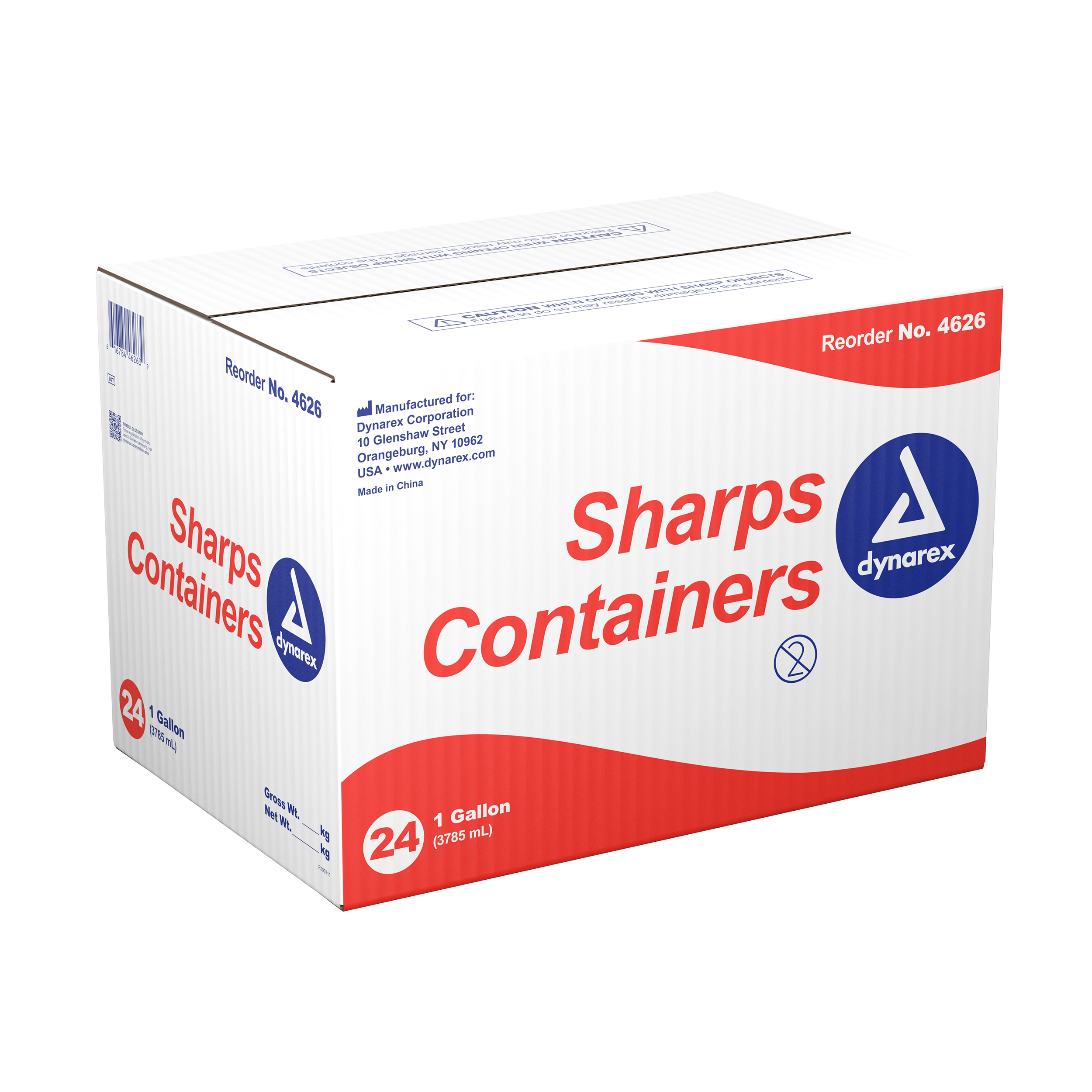 Sharps Containers - 1gal. - 24/Cs