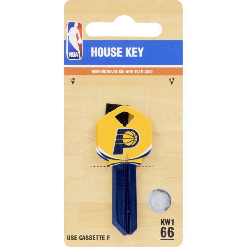 Kwikset/66 KW1 NBA Indiana Pacers Key Blank