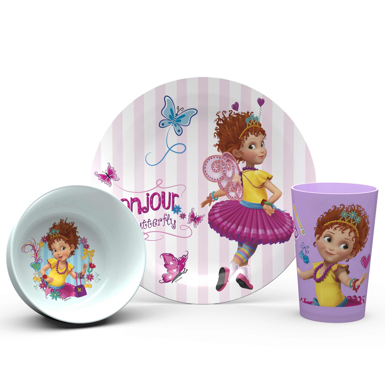 Disney Jr. Dinnerware Set, Fancy Nancy, 5-piece set slideshow image 3