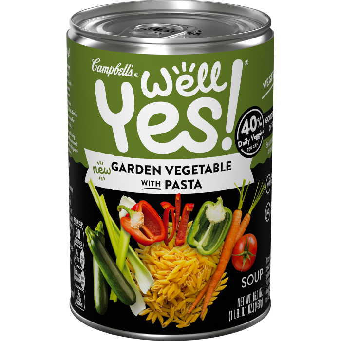 Garden Vegetable with Pasta Soup