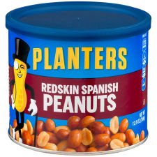 Planters Redskin Spanish Peanuts 12.5 oz Can