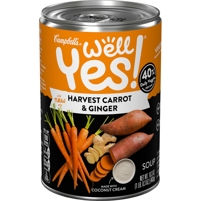 Harvest Carrot & Ginger Soup