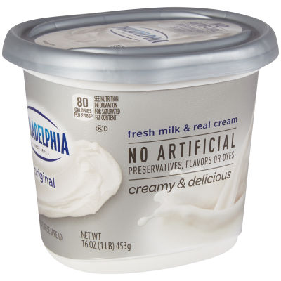 Philadelphia Original Cream Cheese Spread 16 oz Cup
