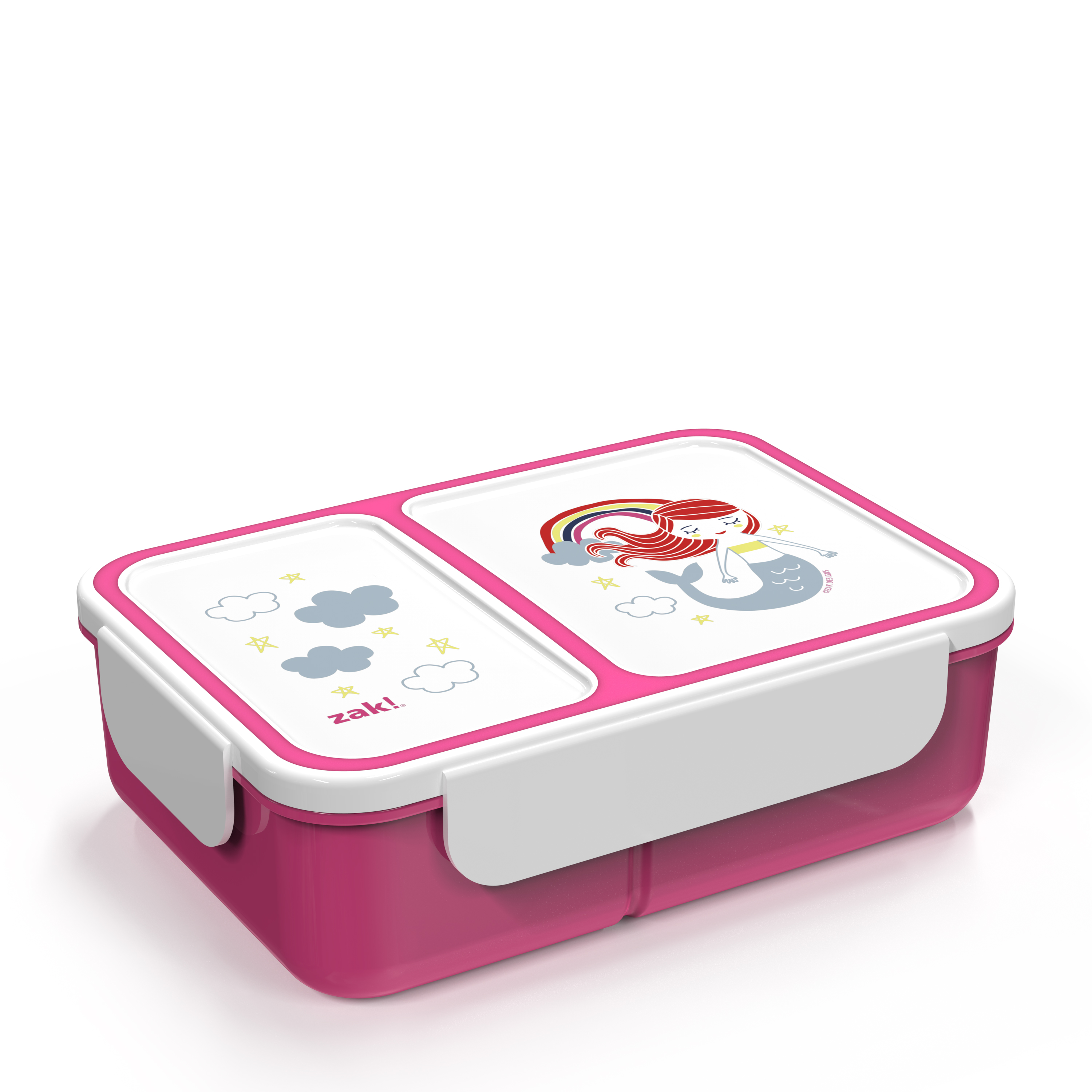Happy Things Dual-compartment Reusable Bento Box, Mermaids slideshow image 3