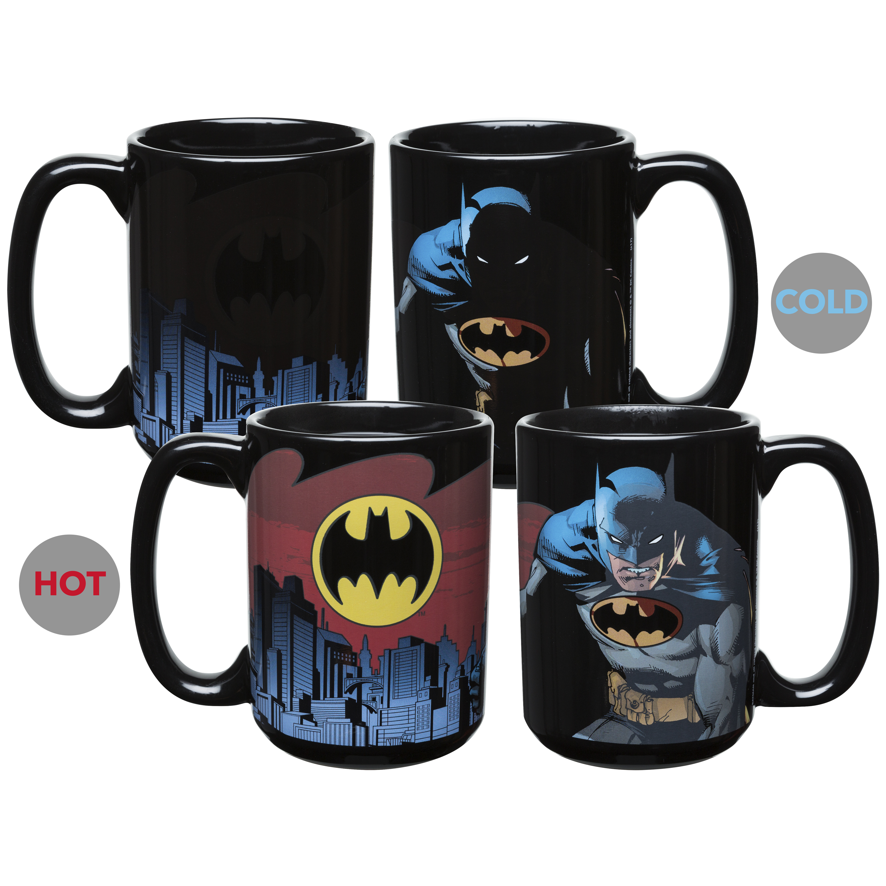 DC Comics 15 oz. Coffee Mug, Batman slideshow image 2