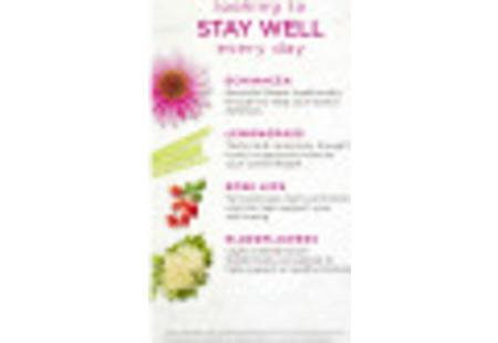 Front of Bigelow Benefits Lemon and Echinacea Herbal Tea box