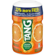 TANG POWDERED SOFT DRINK ORANGE 26.2 oz Jar