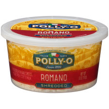 Polly-O Shredded Romano 5 oz Tub