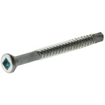 Zinc-Plated Square Drive Self-Drilling Trim Screws