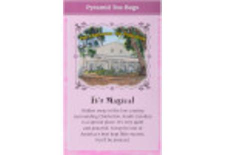 Back of Charleston Tea Rockville Raspberry Tea box