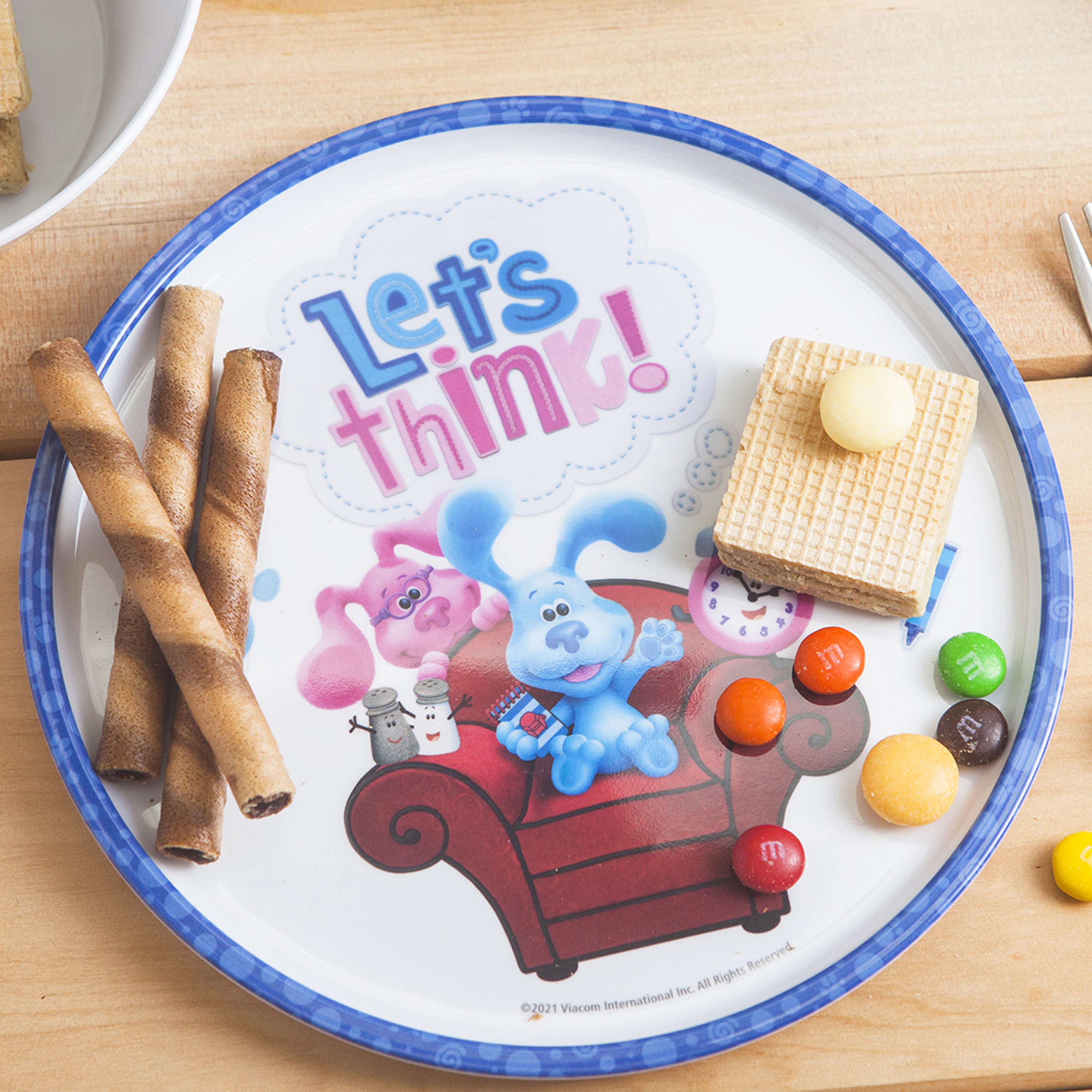 Blues Clues and You Kids Dinner Set, Blue and Friends, 5-piece set slideshow image 5