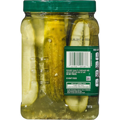 Claussen Deli-Style Kosher Dill Pickle Spears 64 Oz