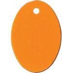 Orange Small Oval Quick-Tag