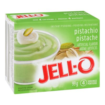 Jell-O Pistachio Instant Pudding Mix