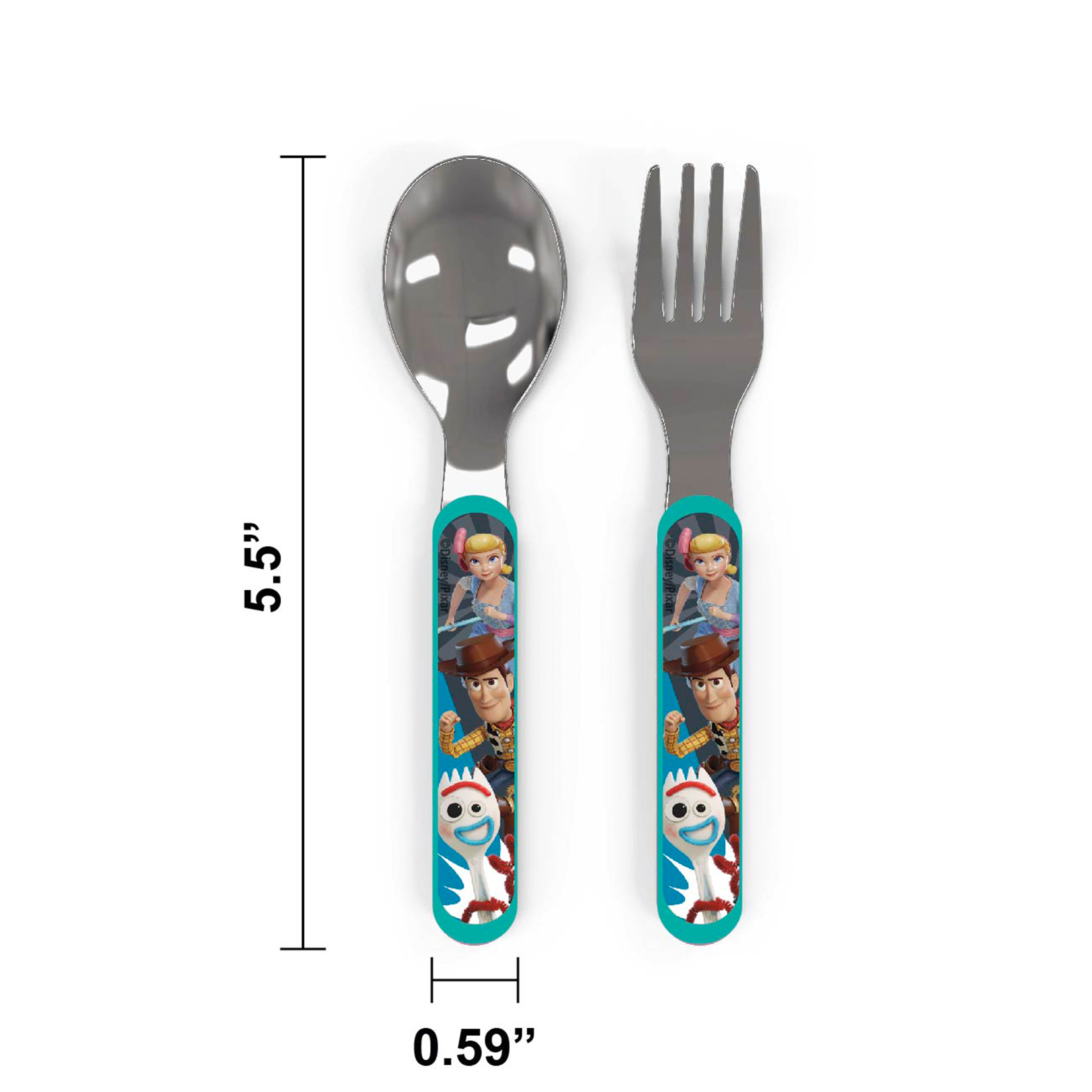 Disney Pixar Dinnerware Set, Woody, Buzz and Friends, 5-piece set slideshow image 4