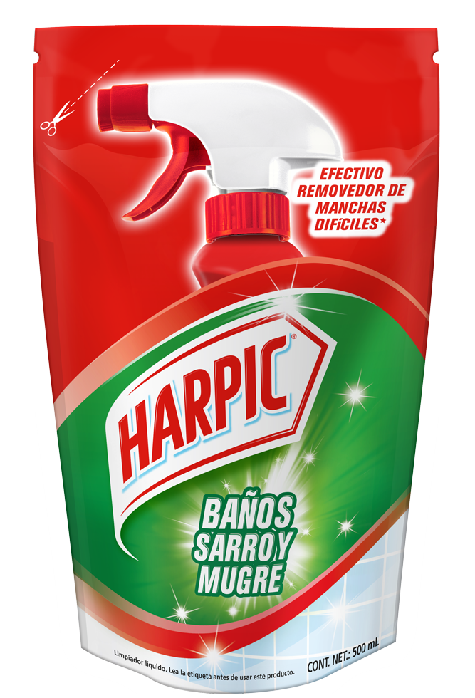 Harpic® Baños Sarro Y Mugre Doypack 500 Ml