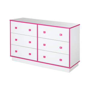 Logik - 6-Drawer Double Dresser