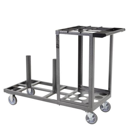 Statesman Cart Bundle - Black Steel 20