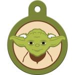 Star Wars Yoda Large Circle Quick-Tag